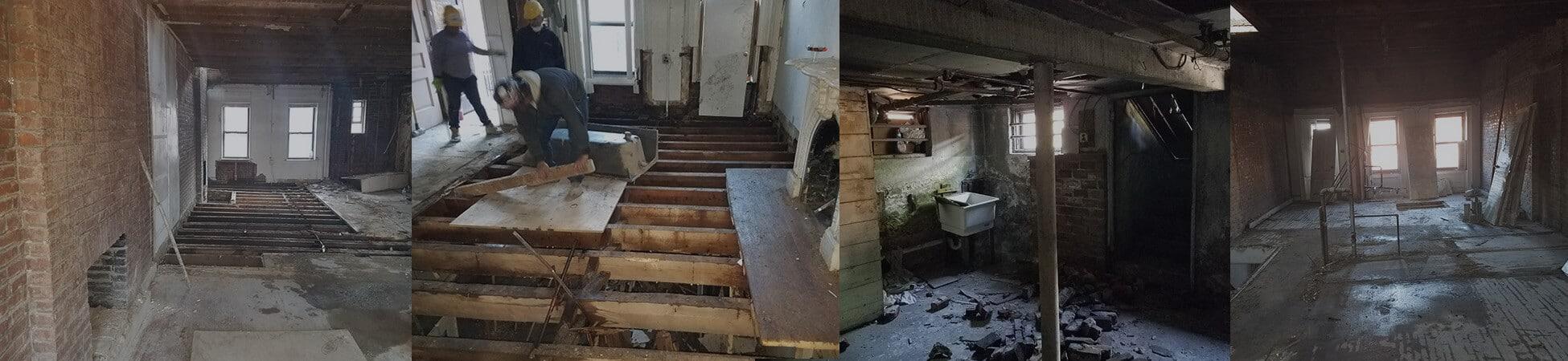 Interior demolition contractors