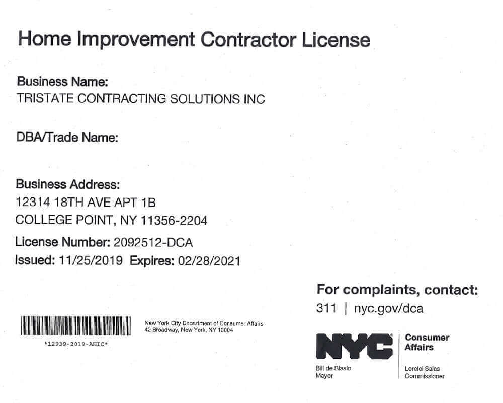 Home Restoration Services Top Certificated Contractors Nyc
